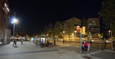A street of Barcelona