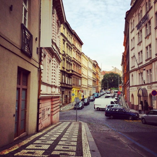 Lost in Streets of Prague