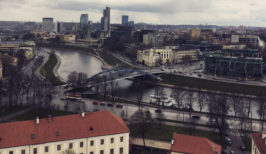 Vilnius as see from Gediminas' Tower
