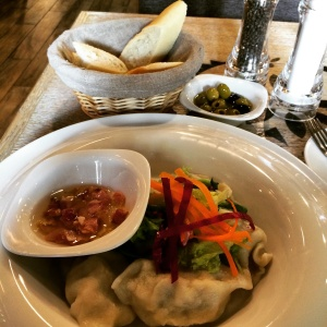 Polish meat dumplings