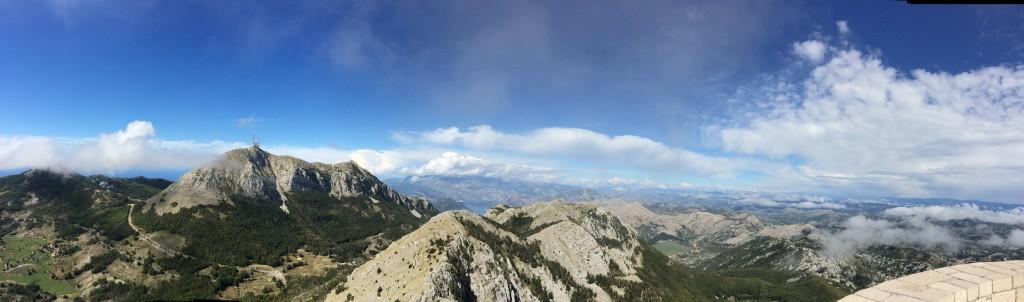 Panoramic view of Montenegro