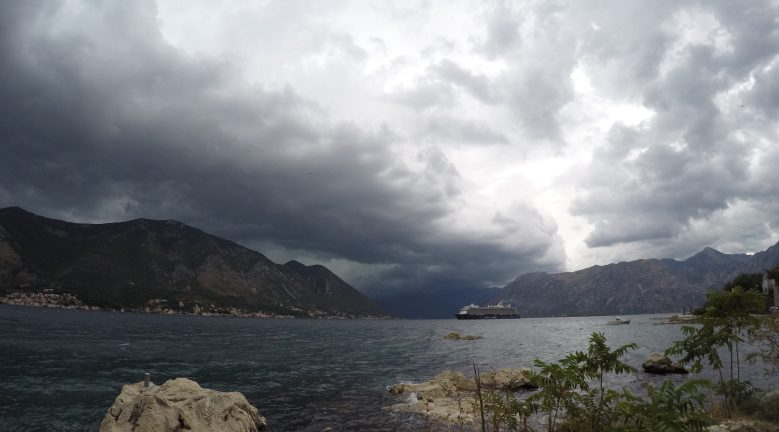 Thunderstorm at Kotor