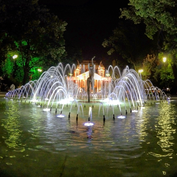 A fountain in Sofia