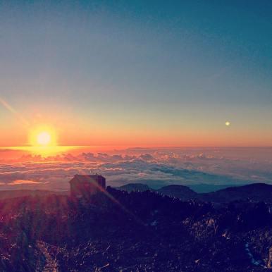 Sunrise near Summit