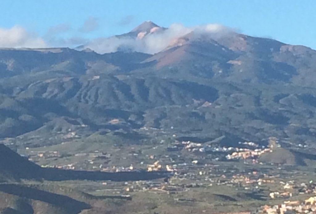 The highest mountain of Spain, mount El-Teide