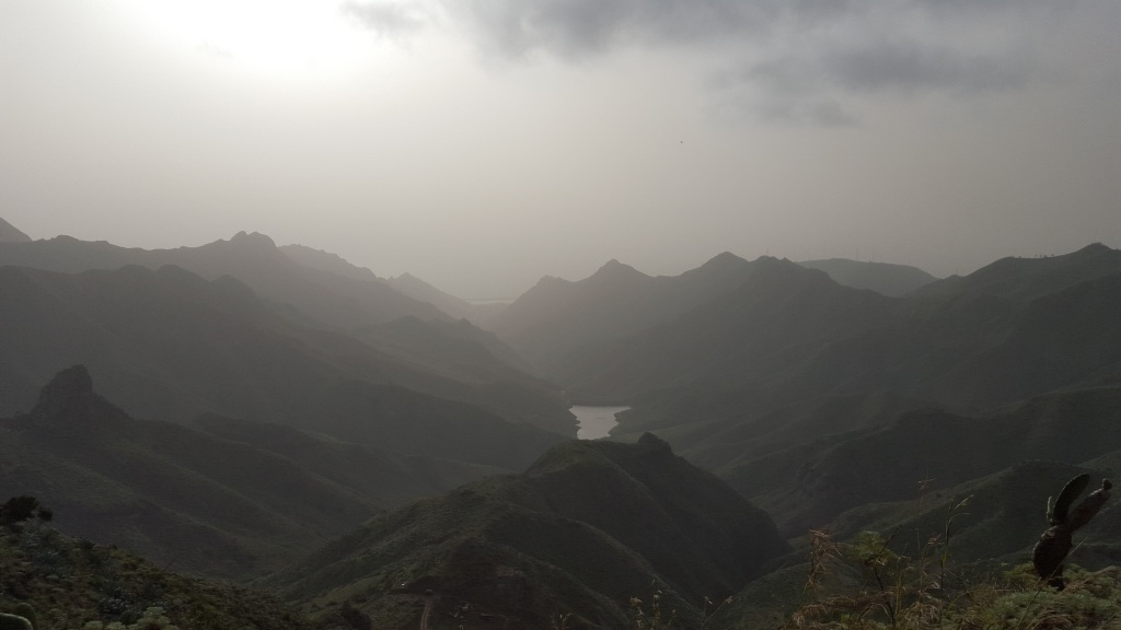 After exiting the narrow trail, this is the view we came across this breath taking view