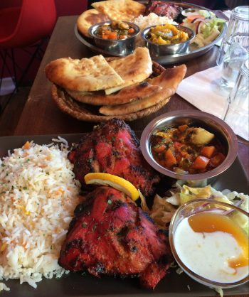 Pakistani Food - As usual, big portions