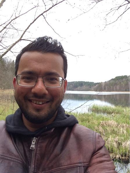 Me at lake :)