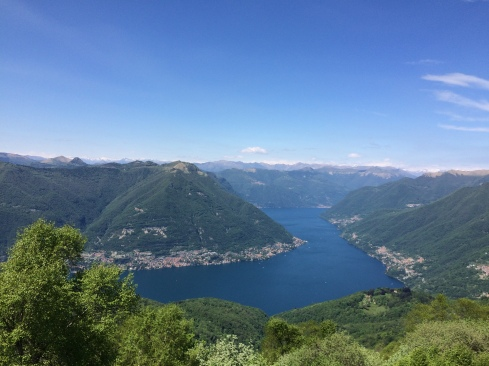 Lake Como from Bolletto