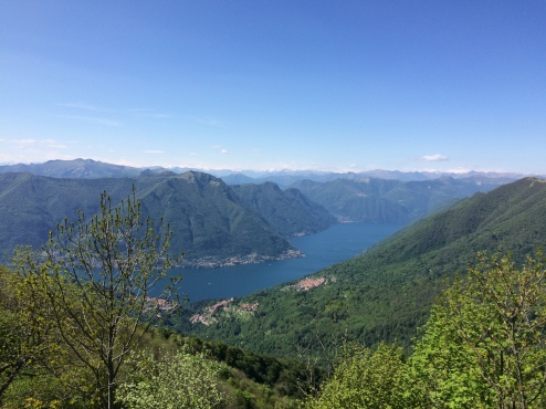 Lake Como from Bolettone