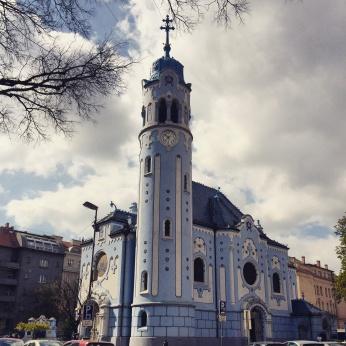 Church of St. Elisabeth also called Blue Church