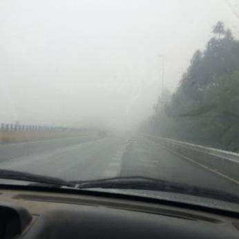 Its raining in North