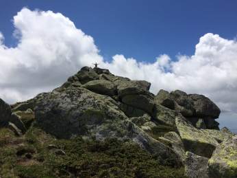 Me on top of rocks
