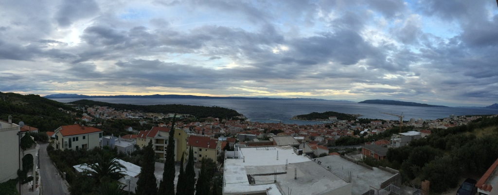 A morning in Makarska