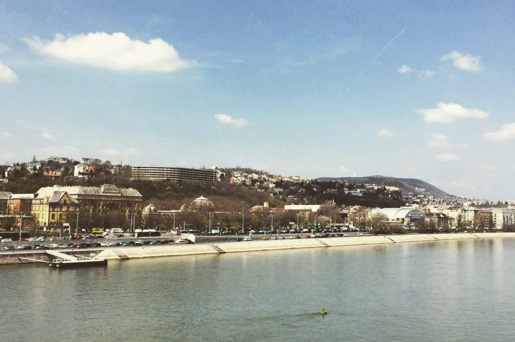 A view of the other side of Budapest