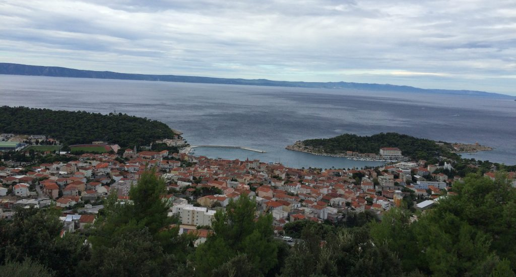 View of Makarska