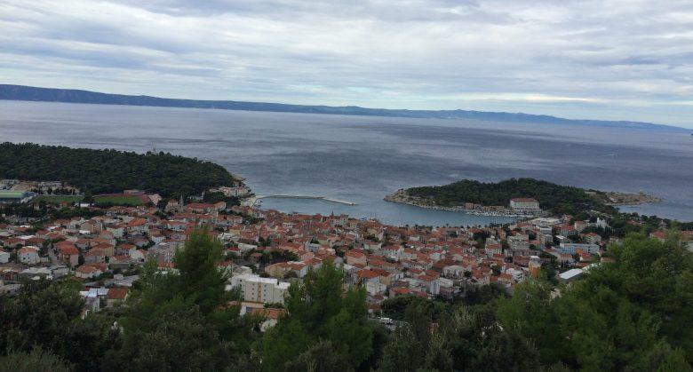 View of Makarska