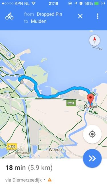 Route we took