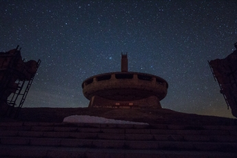 Buzludzha at Night